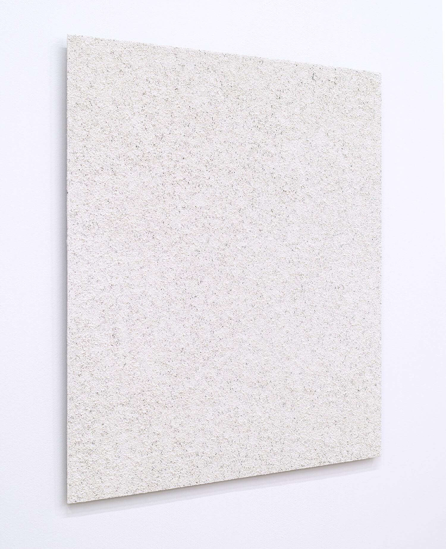 五十嵐彰雄 絵画'01-10F oil on aluminum 50 x 45 cm 2001