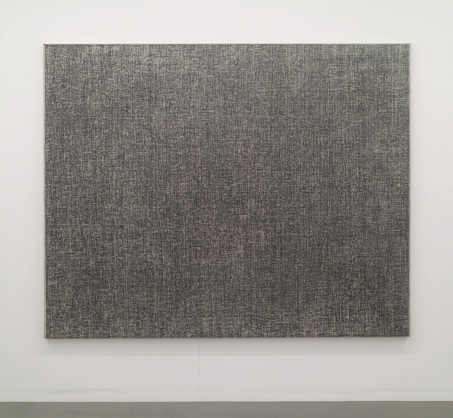 Drawing by drawing, Oil, crayon, chalk on canvas, 182 x 227 cm, 1979