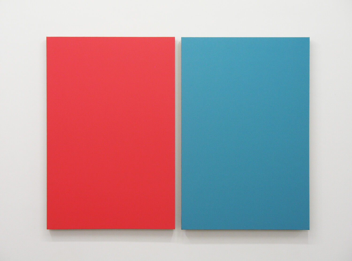 Text No. 791 / oil, wax on linen, 910 x 1242 x 40 mm, 2011 (overall)