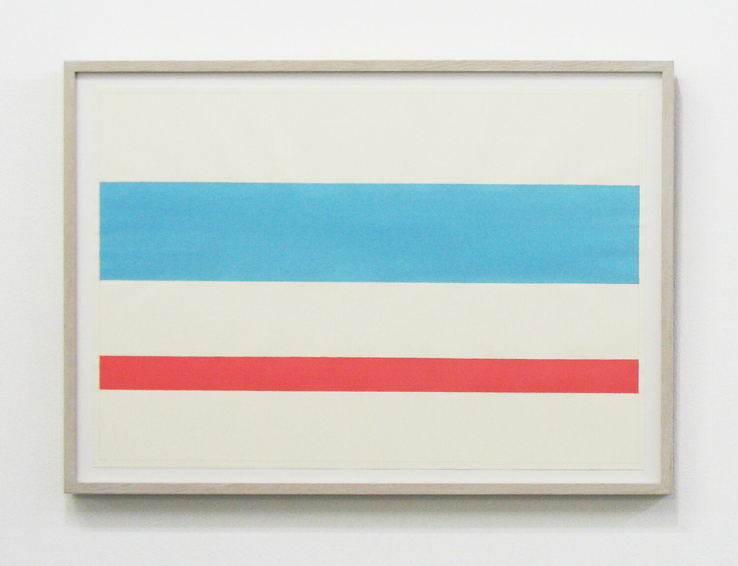 Text No. 886 / acrylic, ink on paper, 548 x 375 mm, 2011