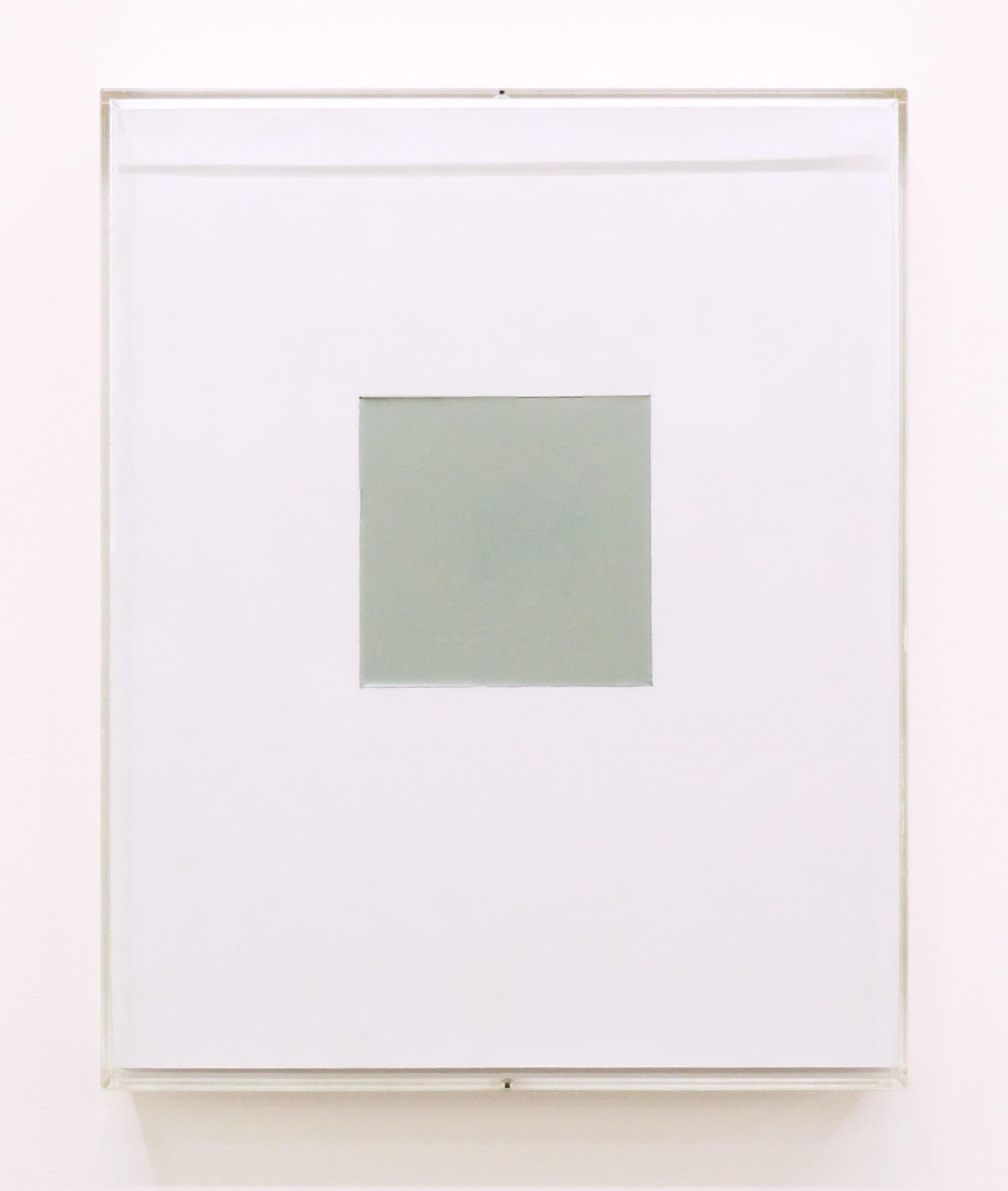 鈴木たかし<br>P0205 / acrylic on paper, 27 x 21 cm, 2002
