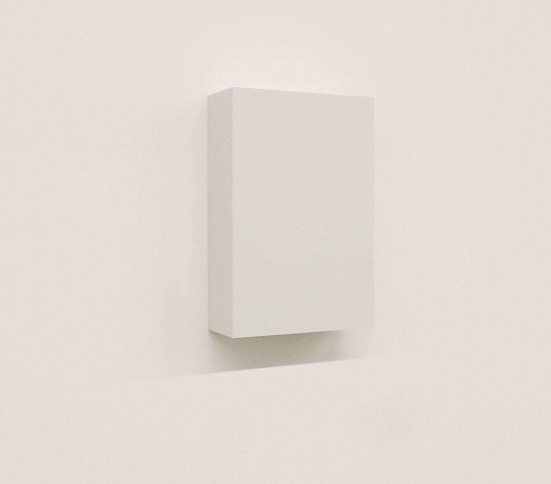WORK16-5(light gray)アクリルにシルクスクリーン , 10 x 15 x 4 cm , 2016