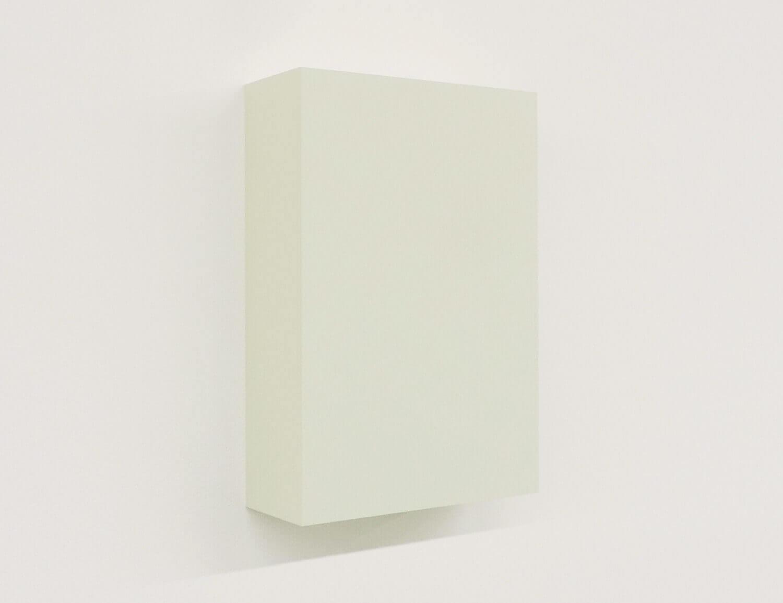 WORK16-9(beige)アクリルにシルクスクリーン , 10 x 15 x 4 cm , 2016