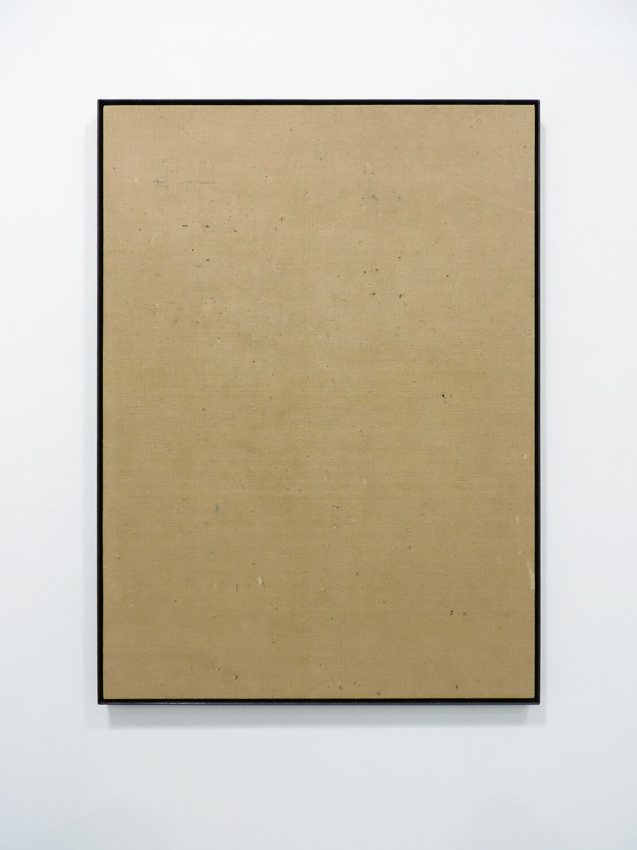 <b>裸眼見麻布(京都市美術館壁布)</b><br>鉛筆、チョーク他<br>745 x 545 mm<br>2015