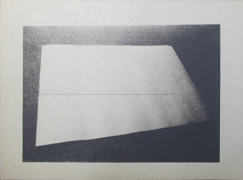 堀尾昭子 Akiko Horio<br>ワラ半紙<br>シルクスクリーン, 鉛筆, ワラ半紙 16 x 121.5 cm<br>2012