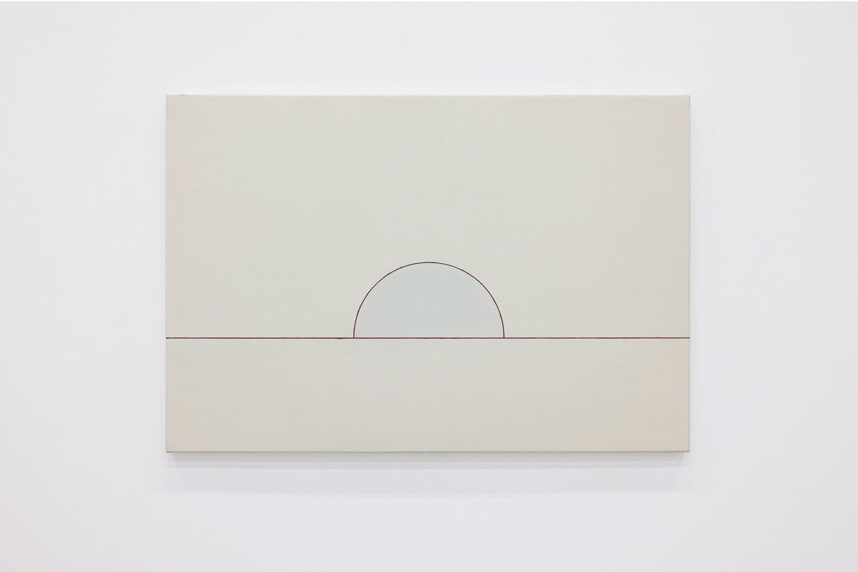 The sun 2002-04(05)<br>oil on canvas , 41×51 cm , 2002