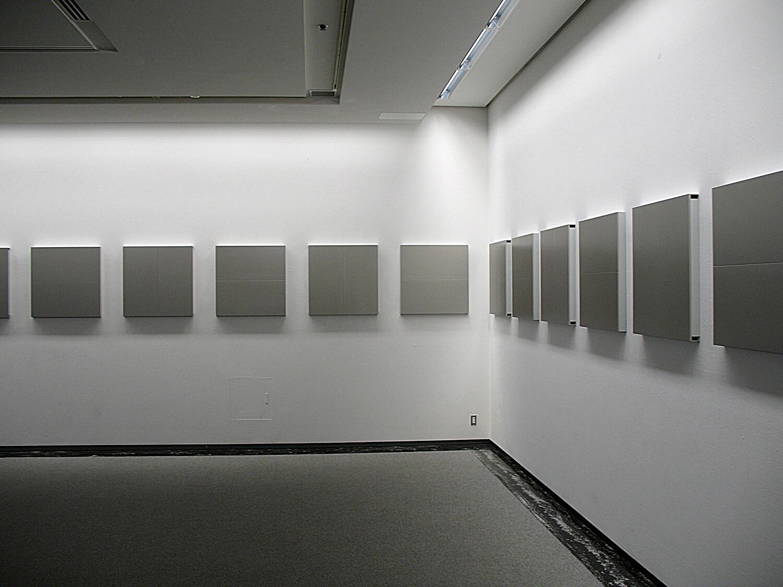 メタリックイェロー<br>ジョイント2パネル<ベークライト> 20 pieces, 79.5 x 79.5 x 6 cm each<br>名古屋市美術館