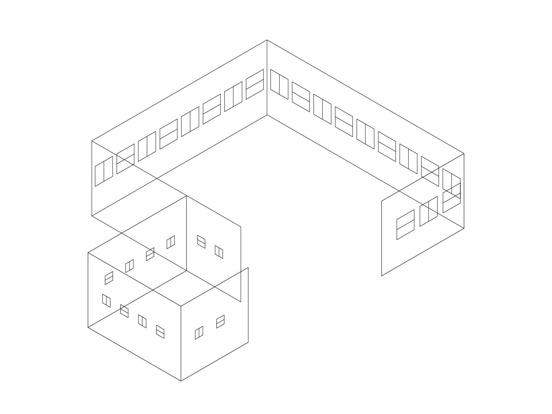 ギャラリーヤマグチクンストバウ 3D展示図