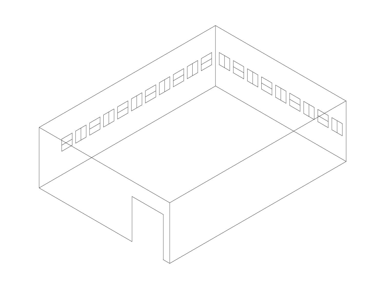 名古屋市美術館 3D展示図