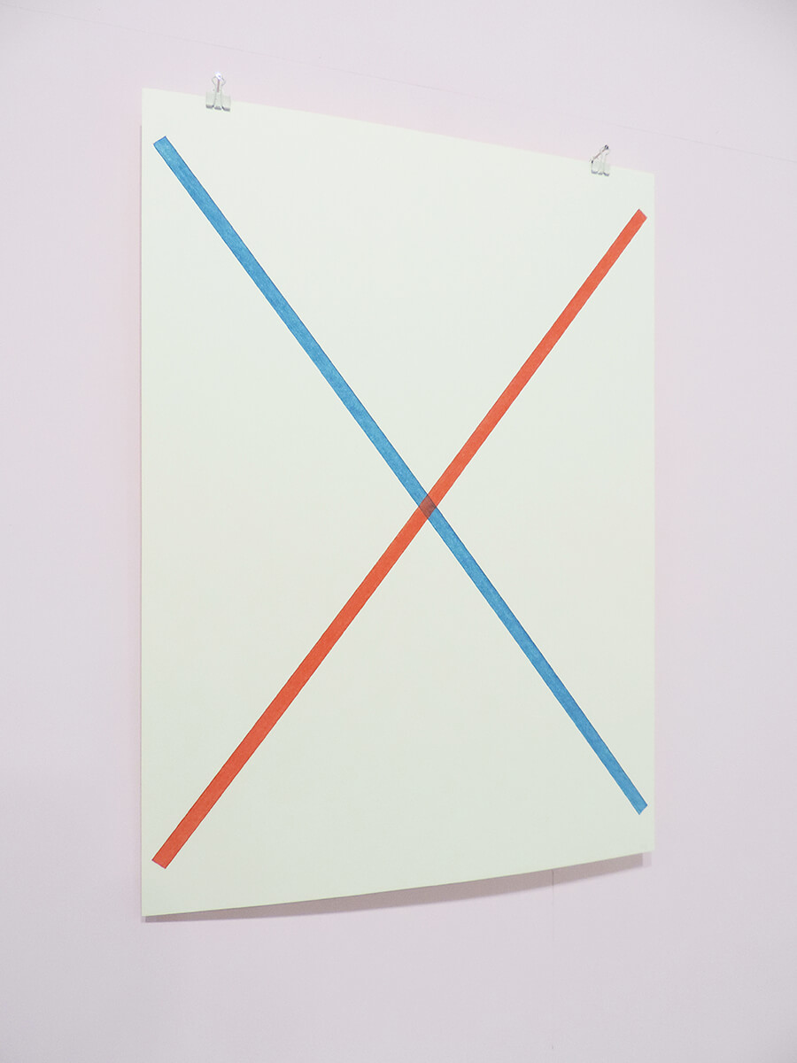 Text No. 1025 / on paper , 53 x 38 cm , 2014