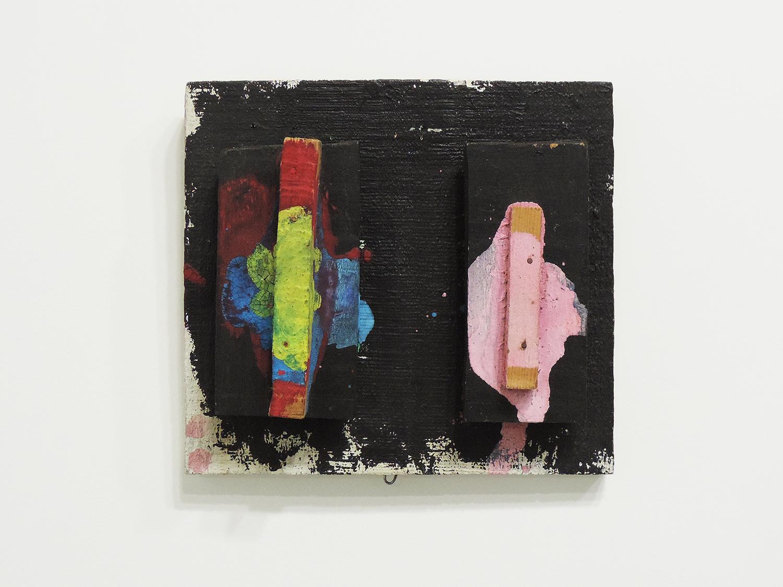 <b><br>Color Order / 色順番</b><br>Acrylic, Wood 18 x 19.5 x 5 cm 1982