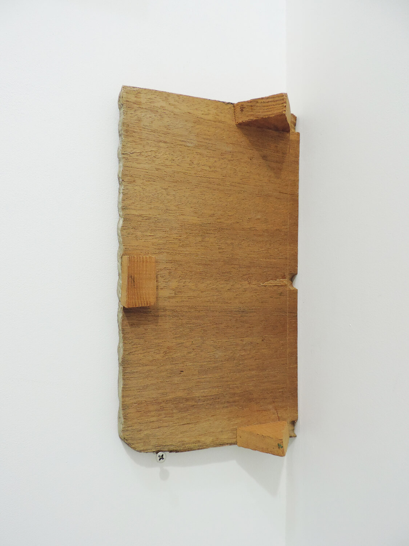 <b><br>Garagoto / ガラコト</b><br>Wood 28.3 × 15.5 × 5.5 cm 1988