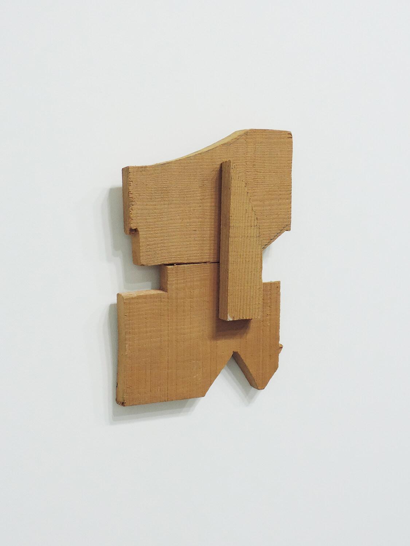 <b>Garagoto / ガラゴト</b><br>Wood 21 × 14.5 × 3 cm 1988