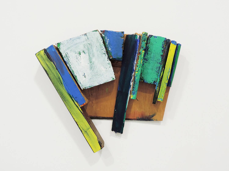 <b>Untitled</b><br>Acrylic on wood 31 x 25.5 x 4.2  cm 1994