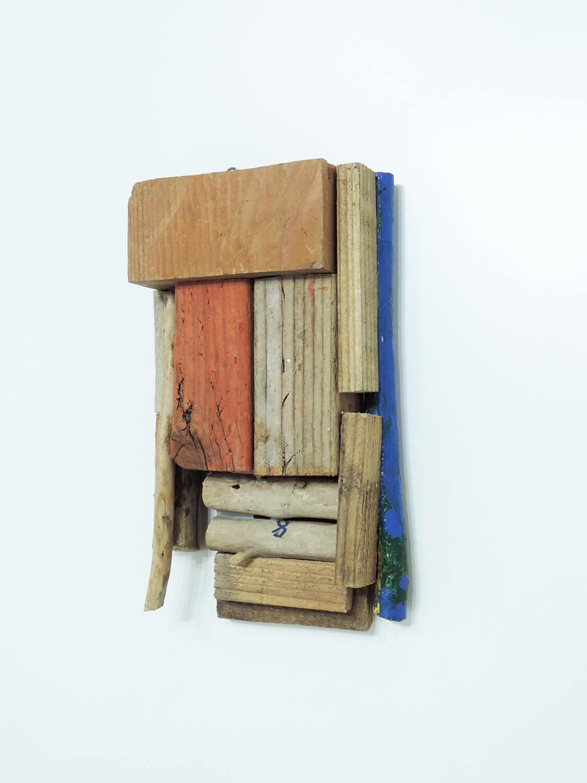 <b>Untitled</b><br>Acrylic on wood 47.3 x 21 x 10.5  cm 1998