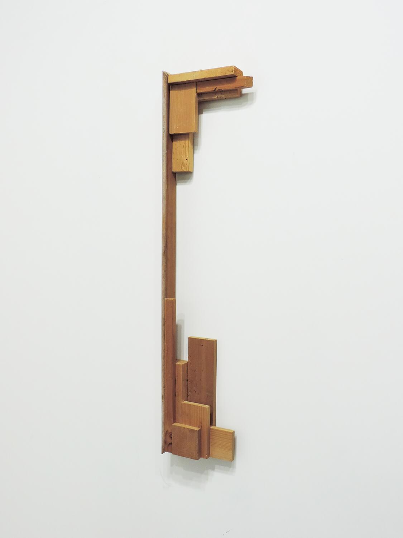 <b>Untitled</b><br>wood 78.5 × 19 × 5 cm 2008