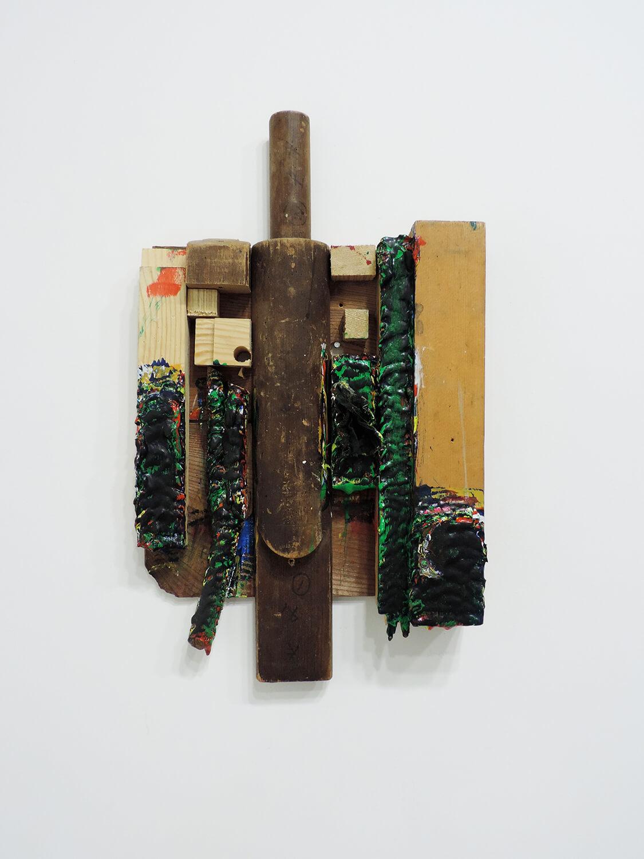 <b>Untitled</b><br>Acrylic on wood 36.2 x 21.3 x 4.5 cm 2009-10