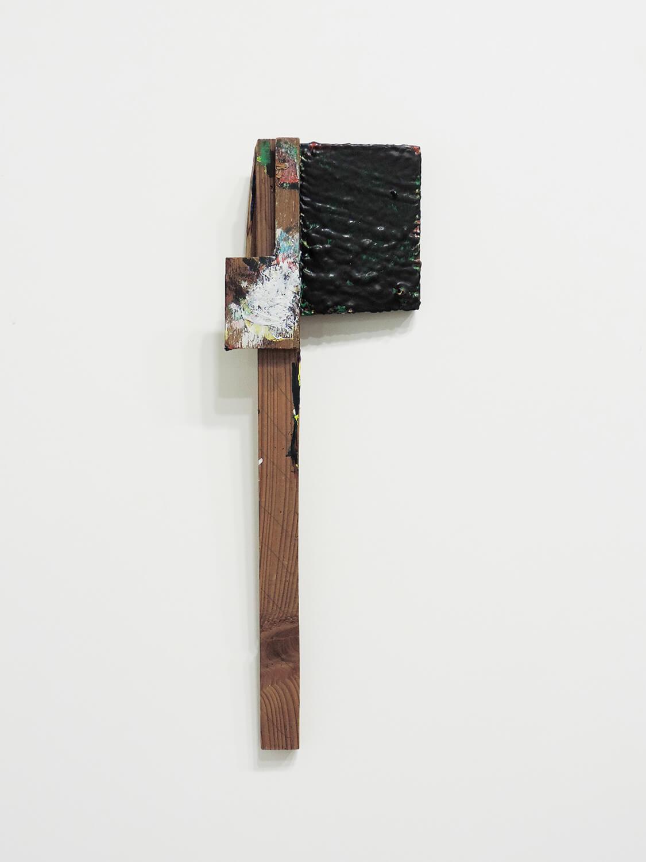 <b>Untitled</b><br>Acrylic on wood 44 x 14.5 x 4.5  cm 2010