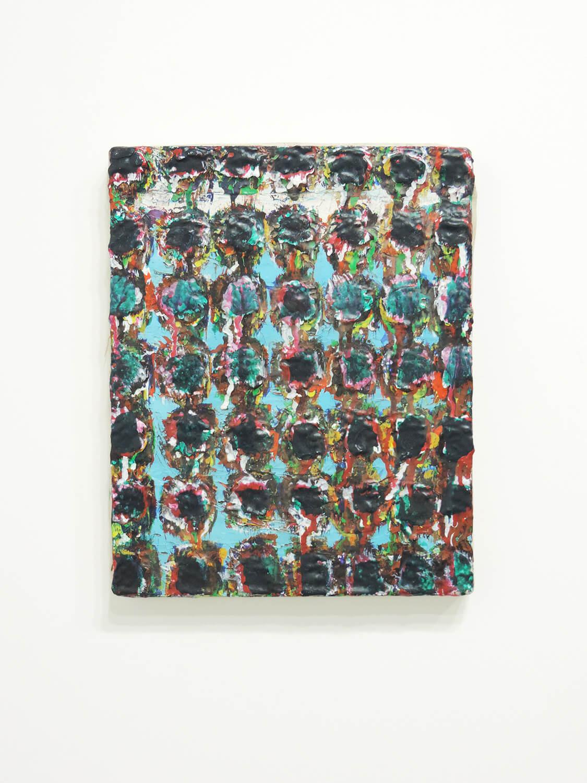 <b>Watermelon / 「西瓜」</b><br>Acrylic on canvas 27.5 x 22.4 x 2.3 cm 1973