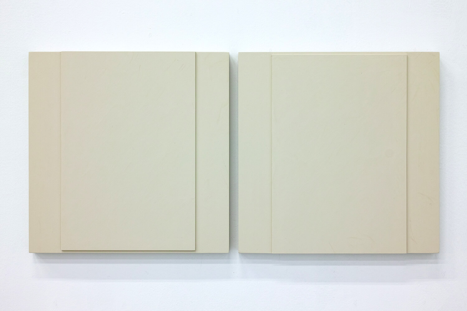 TS1720<br>Colour Gesso on Panel, 30x30cm each, 2017
