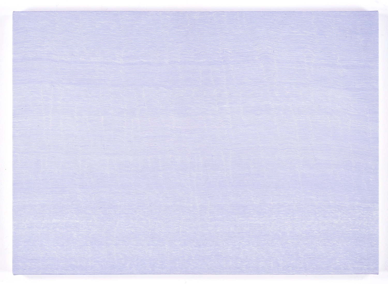 Untitled-Breathe  BLUE<br>Acrylic & gesso on canvas, 56.5 x 78 cm 1996