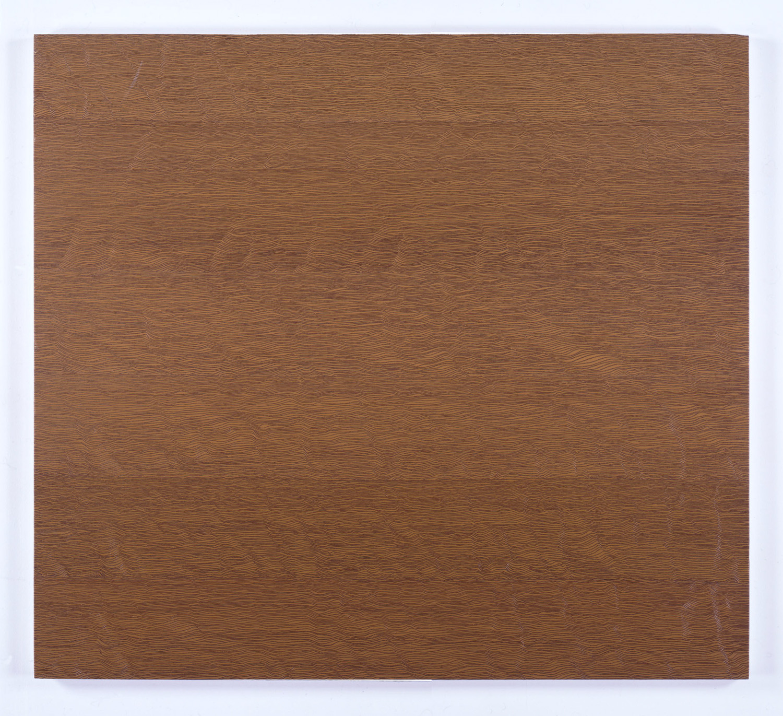Untitled-Breath Raw Sienna<br>Oil on canvas, 96.5 x 106 cm 1997