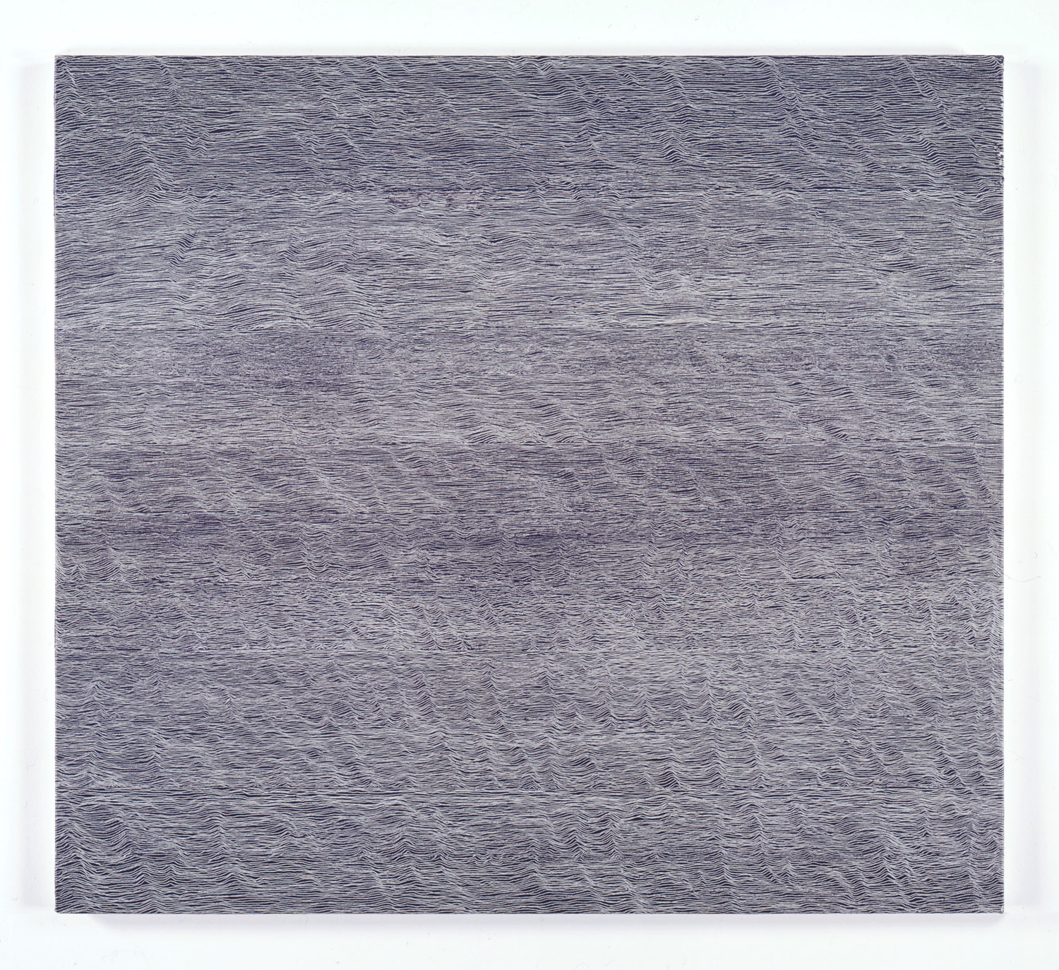 Untitled-Breath Sliver<br>Oil on canvas, 96.5 x 106 cm 1997