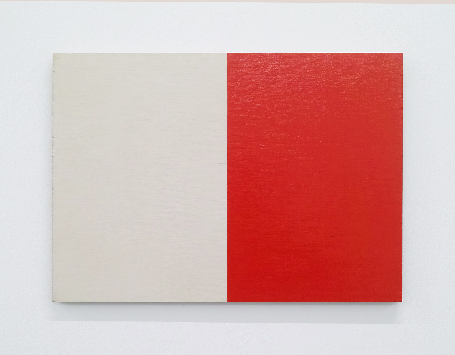 Text No.318<br>acrylic on plywood<br>334 x 469 x 16 mm<br>2002
