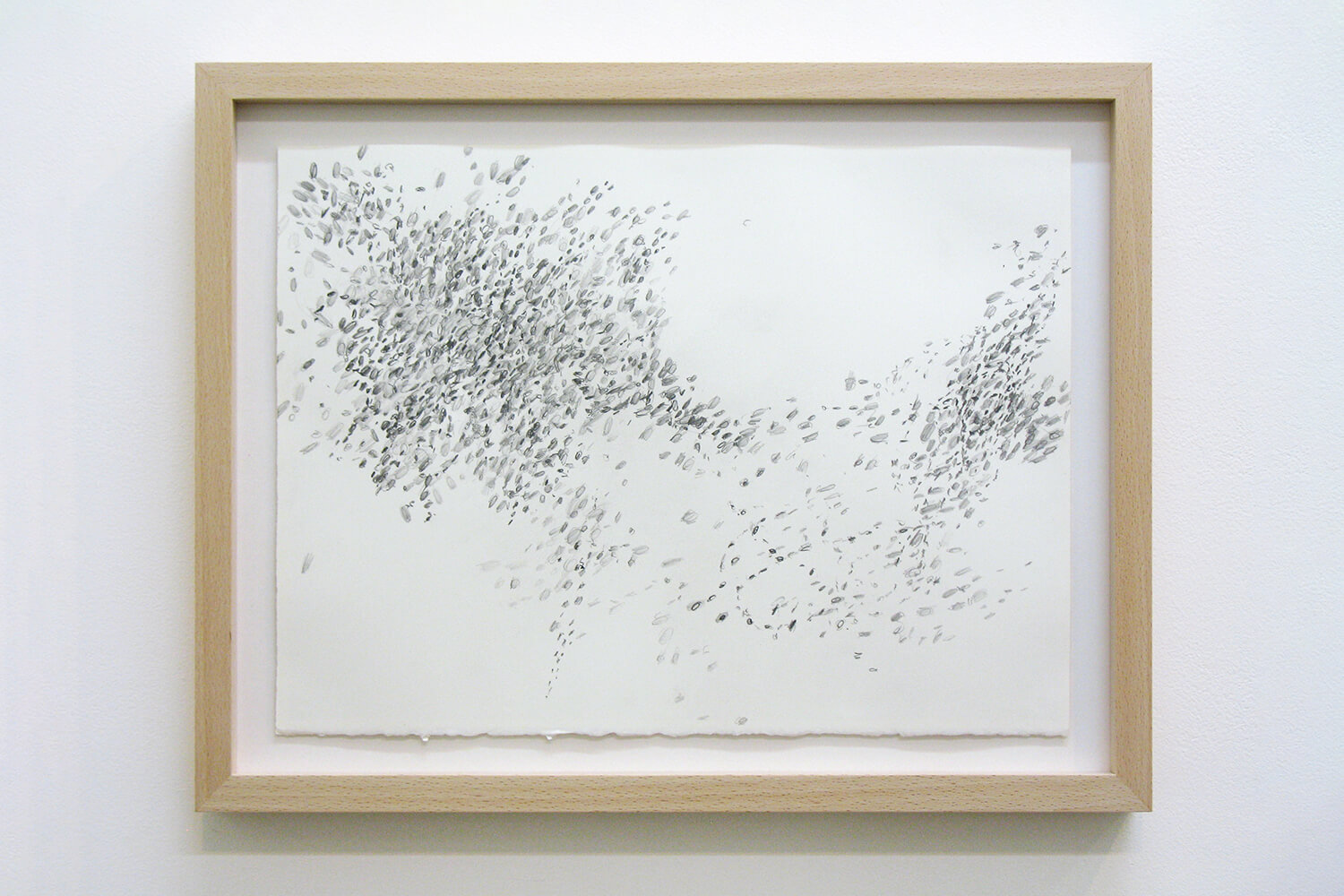 When the Dust Settles (d12)<br>Pencil on paper, 28.5 x 38 cm, 2011