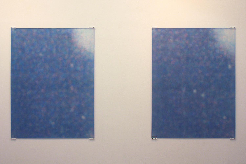 Irradiation|silkscreen on acrylic fiber plate|1200 x 1000 x 8 mm|2010 each