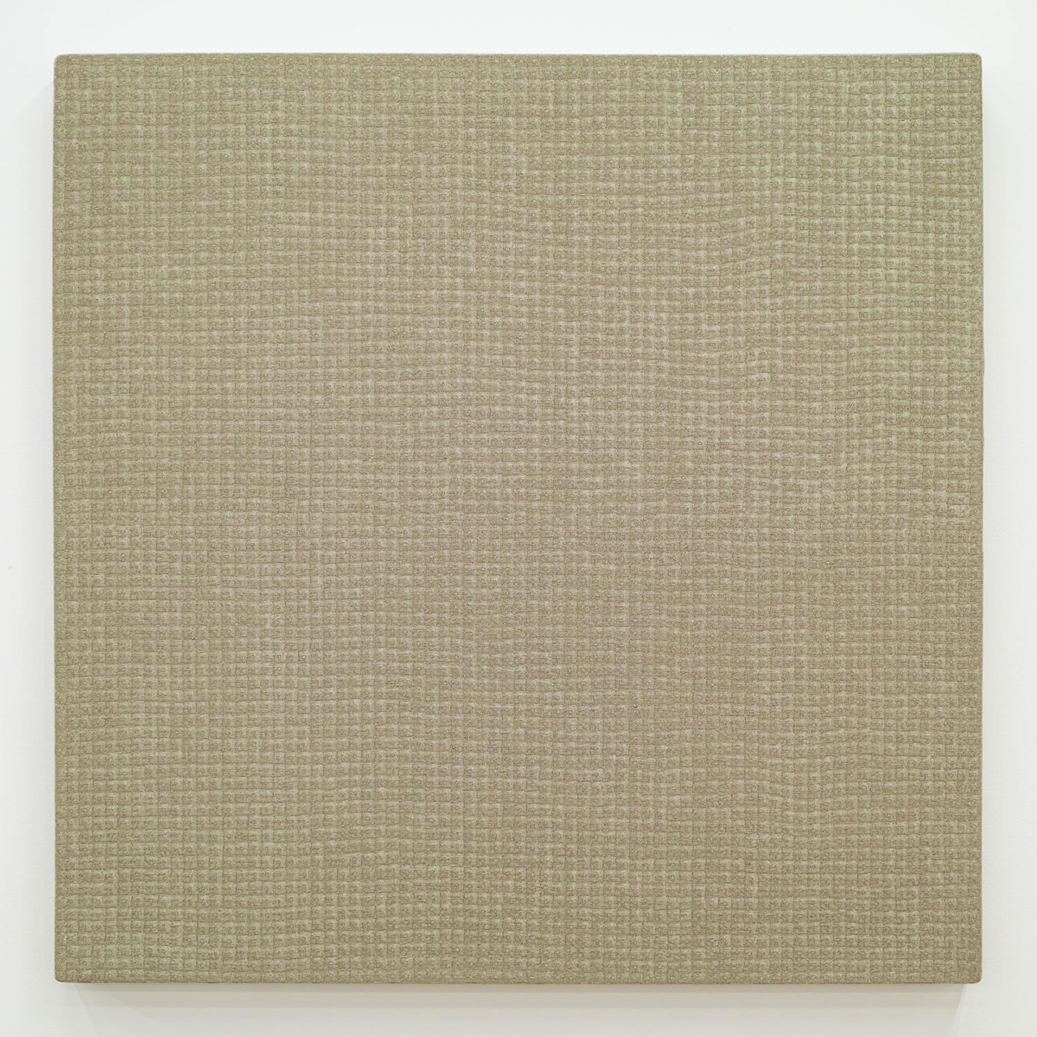 川井昭夫 麻布-square 09-1 Acylic on canvas 72.5 x 72.5 cm 2009