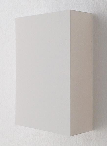越野潤 WORK16-7 アクリルにシルクスクリーン 10 x 15 cm 2016