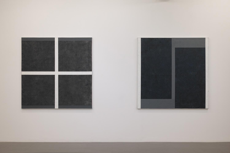 五十嵐彰雄|AKIO IGARASHI<br>Painting 19-201|Oil on canvas|130.5 x 130.5 cm|2019 (left)<br>Painting 19-202|Oil on canvas|130.5 x 130.5 cm|2019 (left)