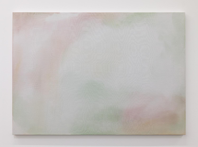 三浦洋子|YOKO MIURA<br>untitled|acrylic, cotton, glass organdy and panel|59.5 x 84 cm|2019