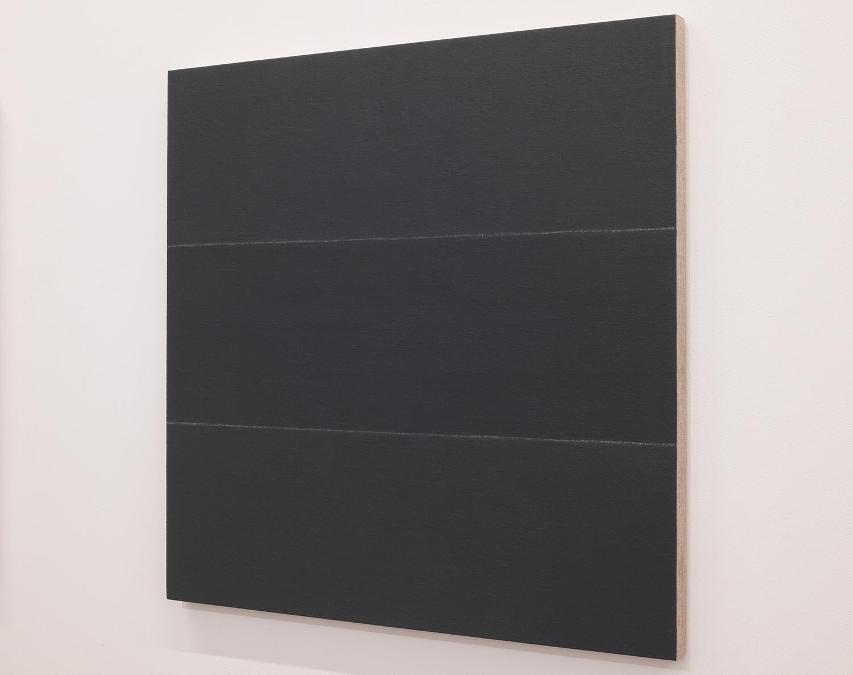 鈴木たかし|TAKSHI SUZUKI<br>TS0823|Gesso on panel|60 x 60 cm|2008