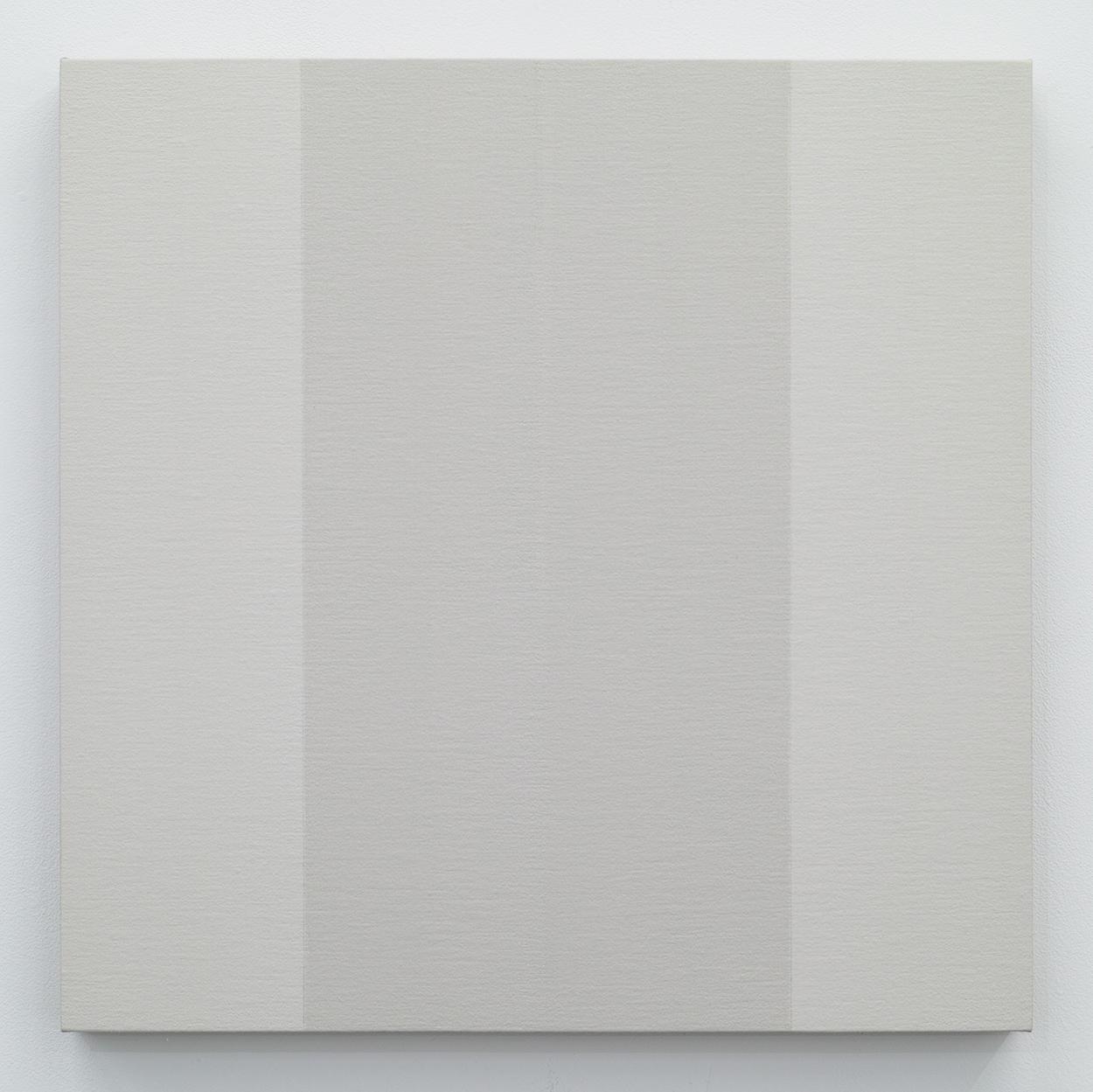鈴木たかし|TAKSHI SUZUKI<br>TS0902|Gesso on panel|45 x 45 cm|2009