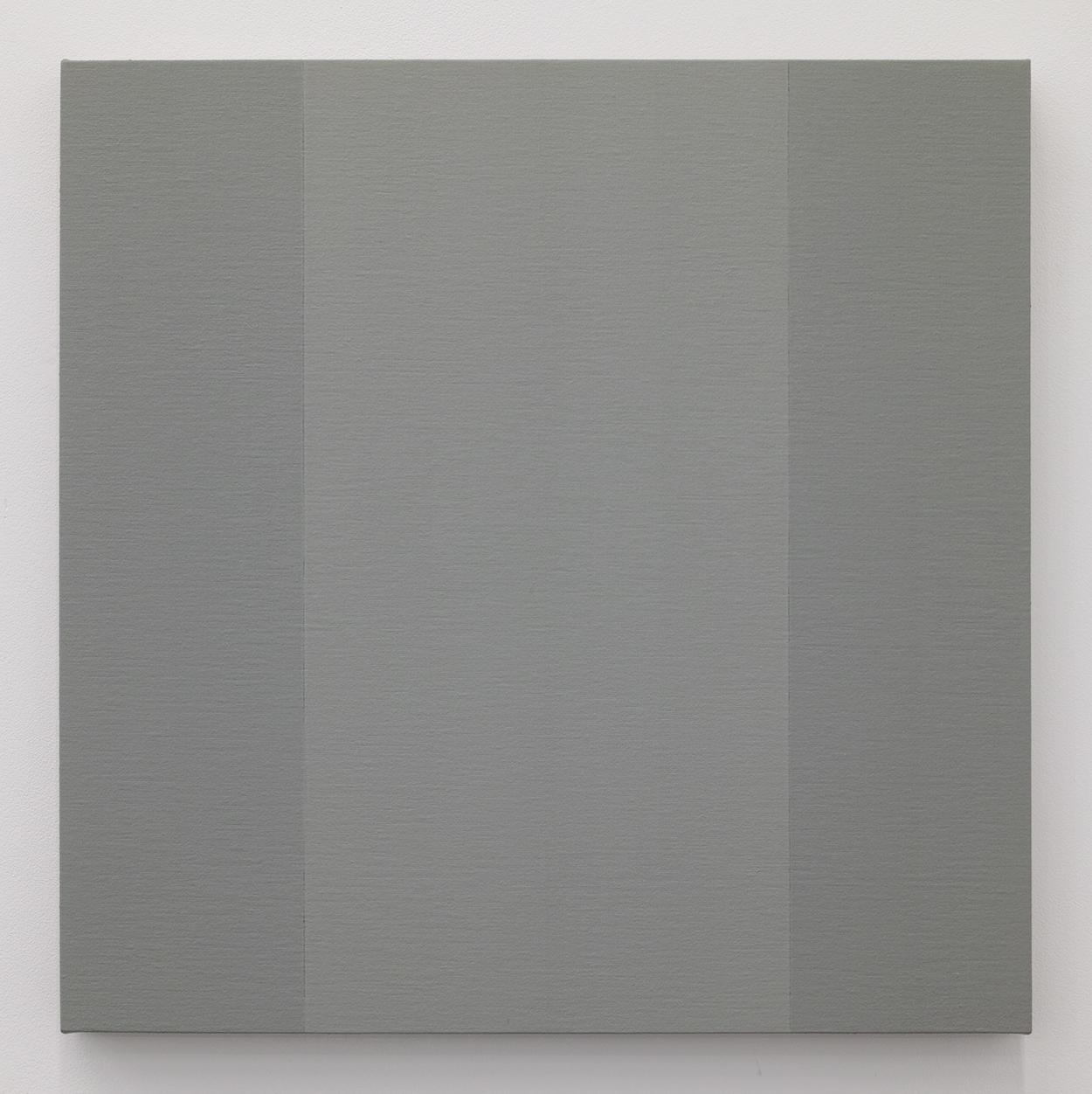 鈴木たかし|TAKSHI SUZUKI<br>TS0904|Gesso on panel|45 x 45 cm|2009