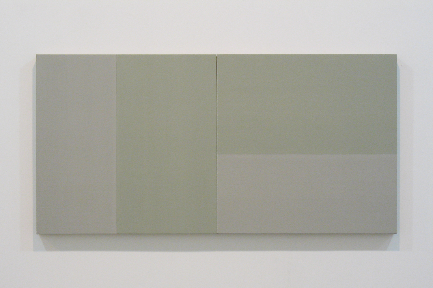 TS0811|Gesso on linen on panel|35 x 70 cm (set of 2)|2008