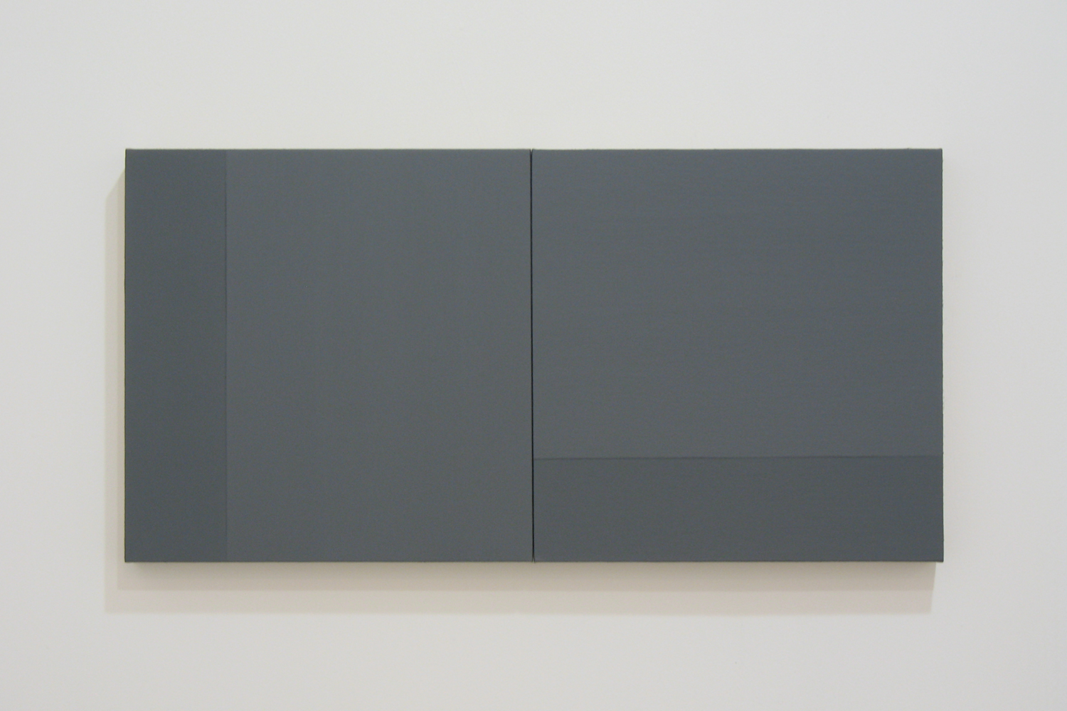 TS0802|Gesso on linen on panel|35 x 70 cm (set of 2)|2008