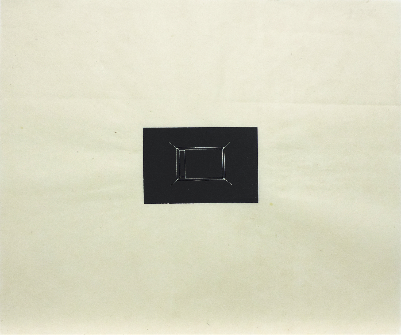 Untitled|linoleum cut on Japanese paper|44.5 x 53.4 cm|1975