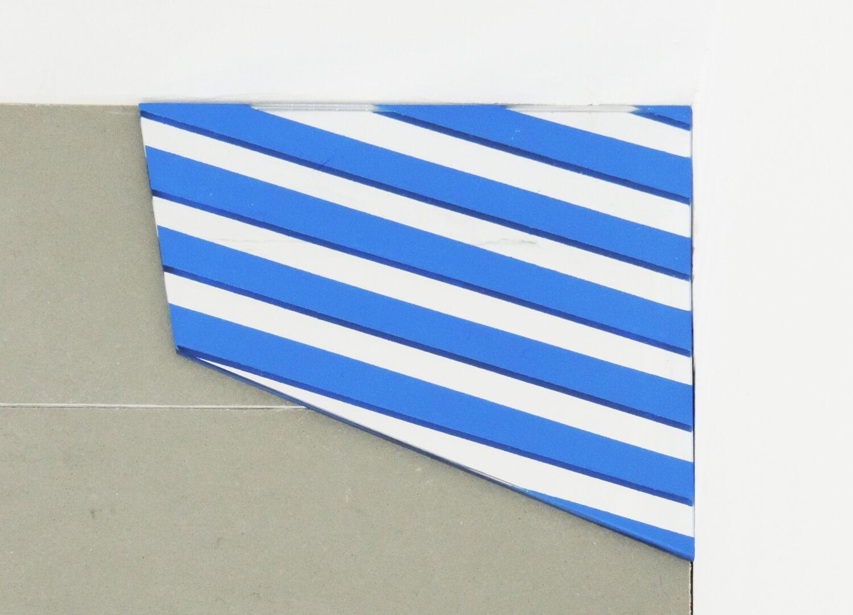 堀尾昭子<br>untitled / アクリルミラー、アクリル絵具, 13 × 13.7 cm, 2016