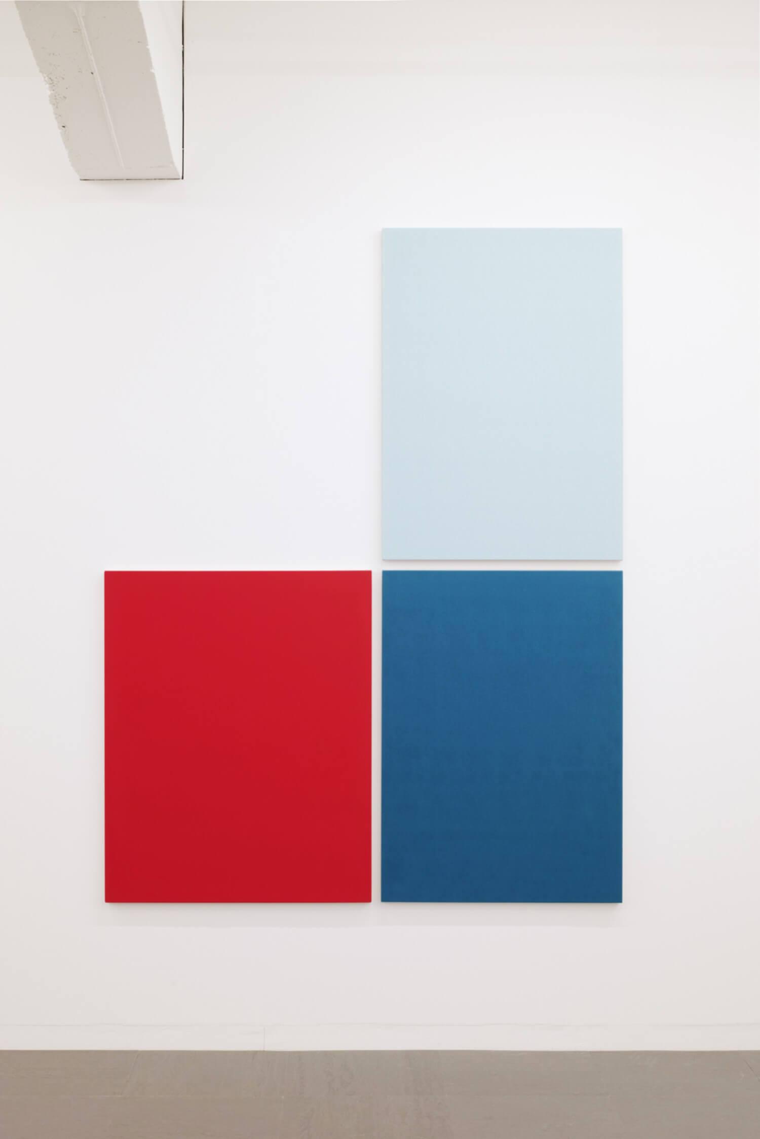 鈴木隆<br>Text No.1093 / oilacrylic on canvas, 2046 x1570 x 30 mm,  overall (set of 3), 2016