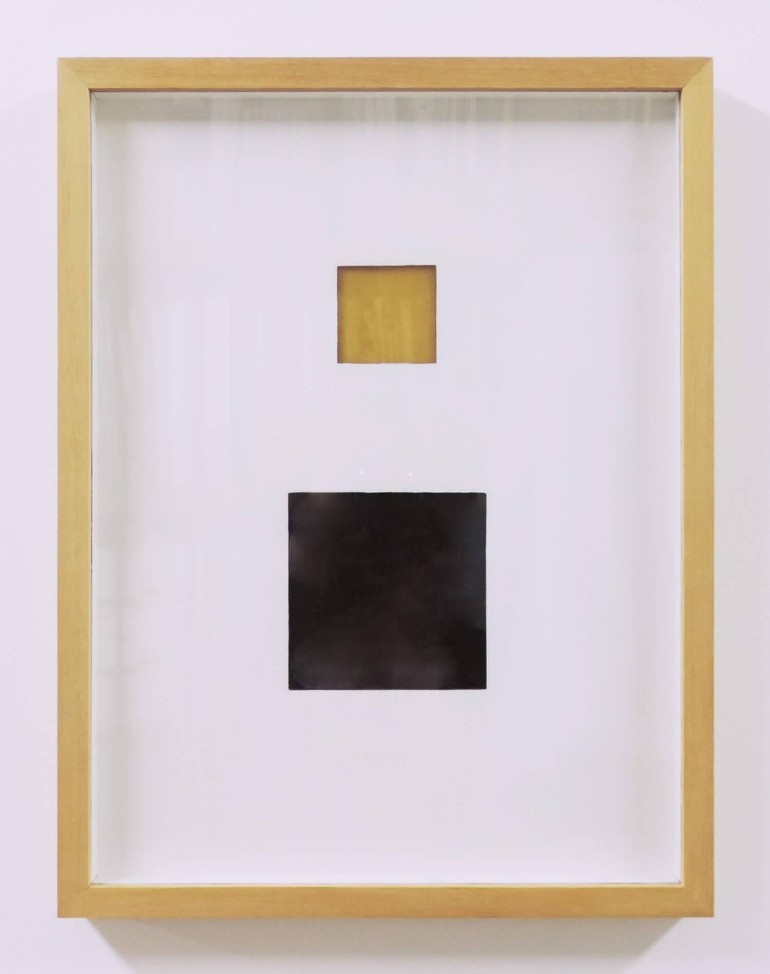 鈴木たかし<br>TS0323 / Rresin on paper, 30.8 x 24.7 cm, 2008