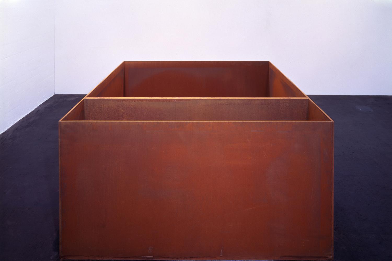 Untitled 1989|cor-ten steel|100 x 200 x 200 cm