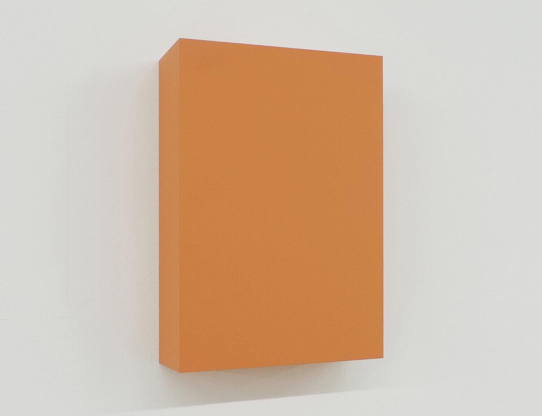 WORK16-1(brown)アクリルにシルクスクリーン , 10 x 15 x 4 cm , 2016
