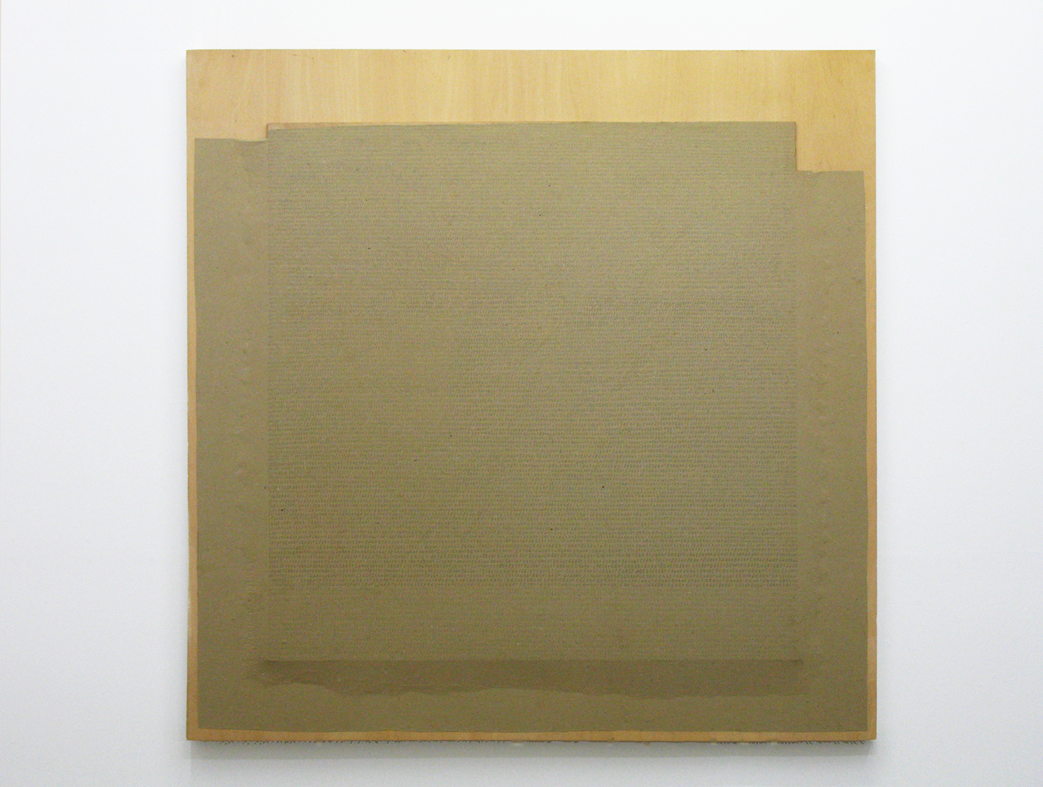 Paper drawing|pencil on paper on wooden panel|1970s