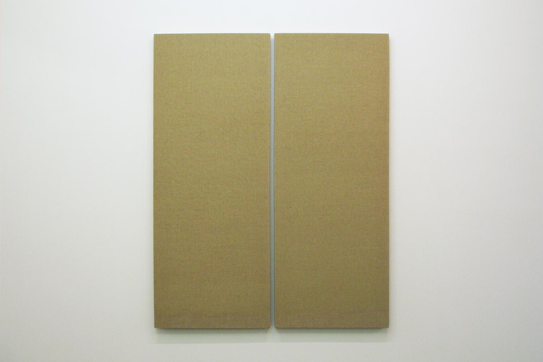 Twin dust |acrylic on hemp canvas|1980s