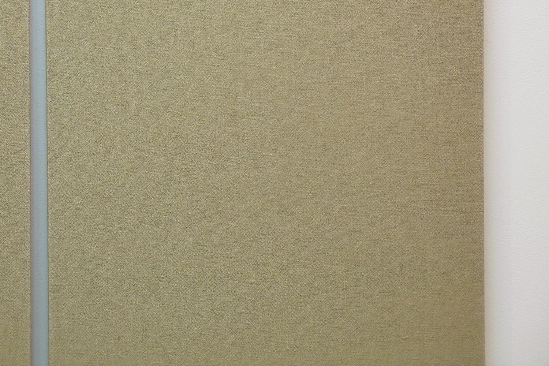 Twin dust |acrylic on hemp canvas|1980s (detail)