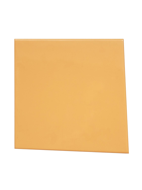 <b>曖昧な輪郭線の四角形</b><br>パネルに樹脂塗料、鉄鉄製フレーム<br>420 × 420 × 40 mm<br>2014
