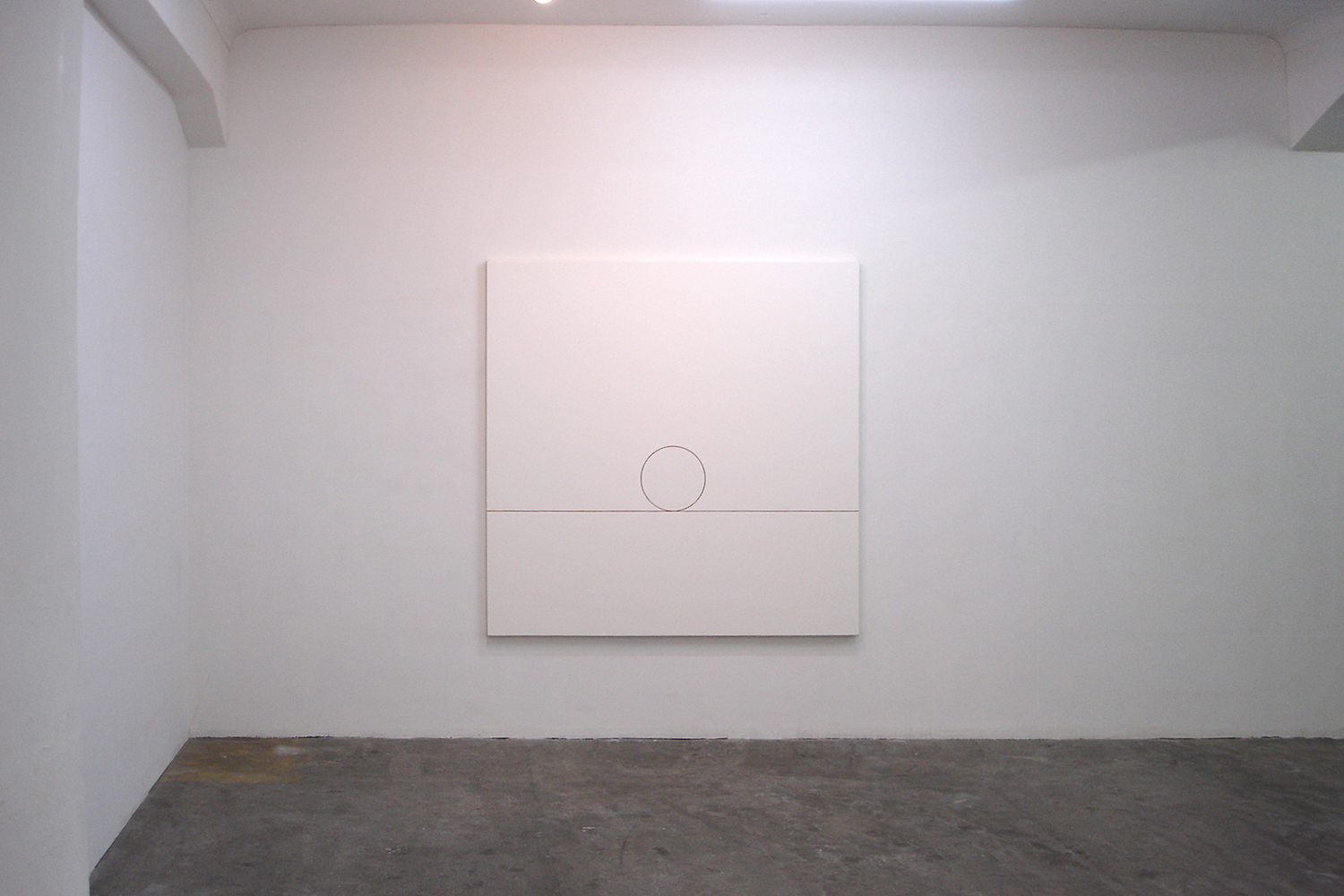 太陽|Sun 2005-08(01)|Pigments, oils, baked linseed oil on canvas| 160 x 160 cm|2005